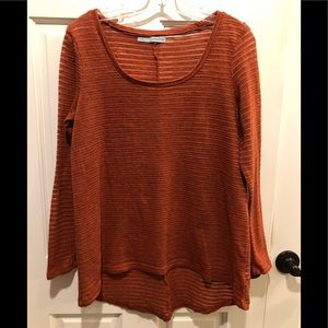 Maurices burnt orange sweater (size L)